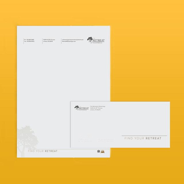 Letterhead & #10 Envelope Combo