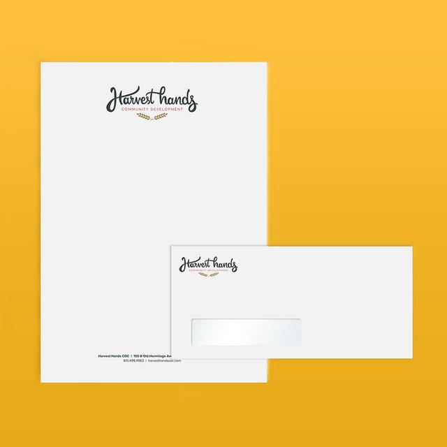 Letterhead & #10 Envelope with Window Combo