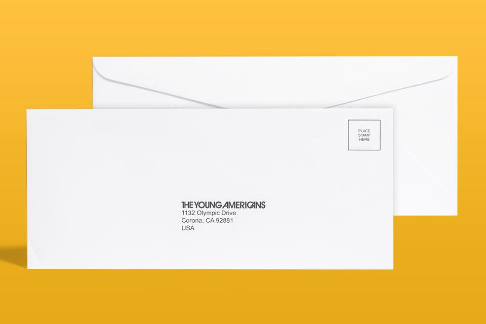 "#9 Envelope ( No-Bleed ) 3.875"" x 8.875"""