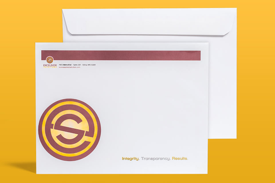 """10"""" x 13"""" Envelope ( No-Bleed ) Booklet Style"""