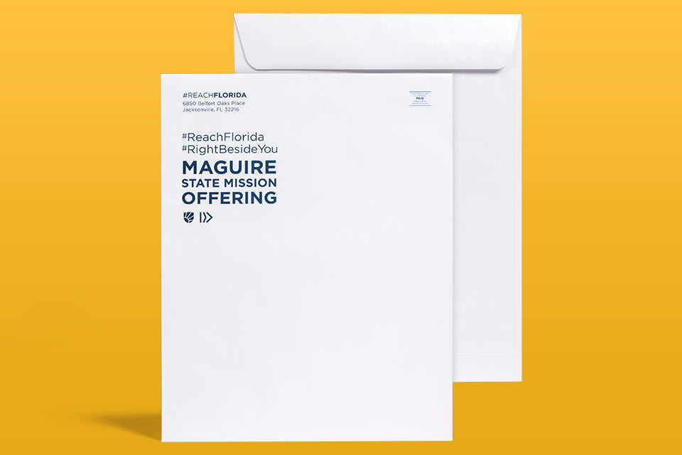 "10"" x 13"" Envelope ( No-Bleed ) Catalog Style"