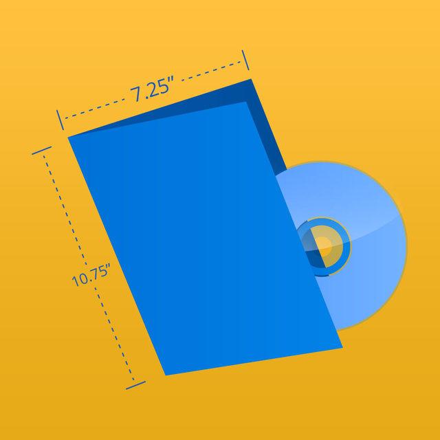 """DVD Wrap - 10.75"""" x 7.25"""""""