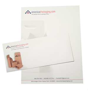 order letterhead and envelopes together for one low price
