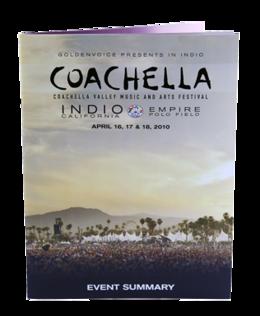 Coachella event sum catalog