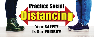 Boots   social distancing 18x7